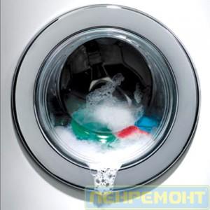 Вытекает вода из двери стиральной машины
