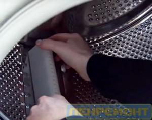 Замена ребра барабана стиральной машины