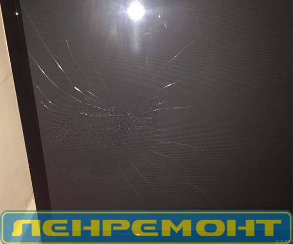 Замена разбитого экрана на телевизоре