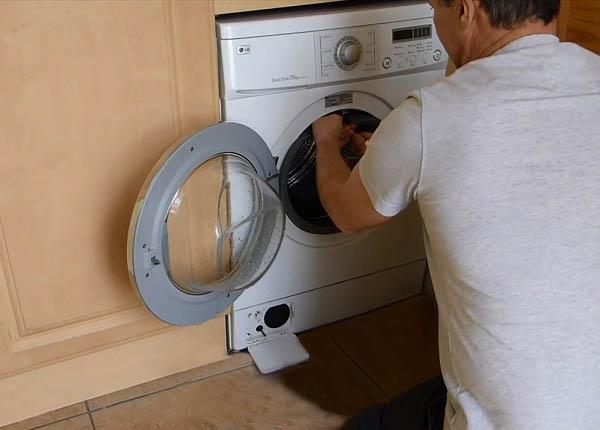 Стиральная машина отключается во время стирки